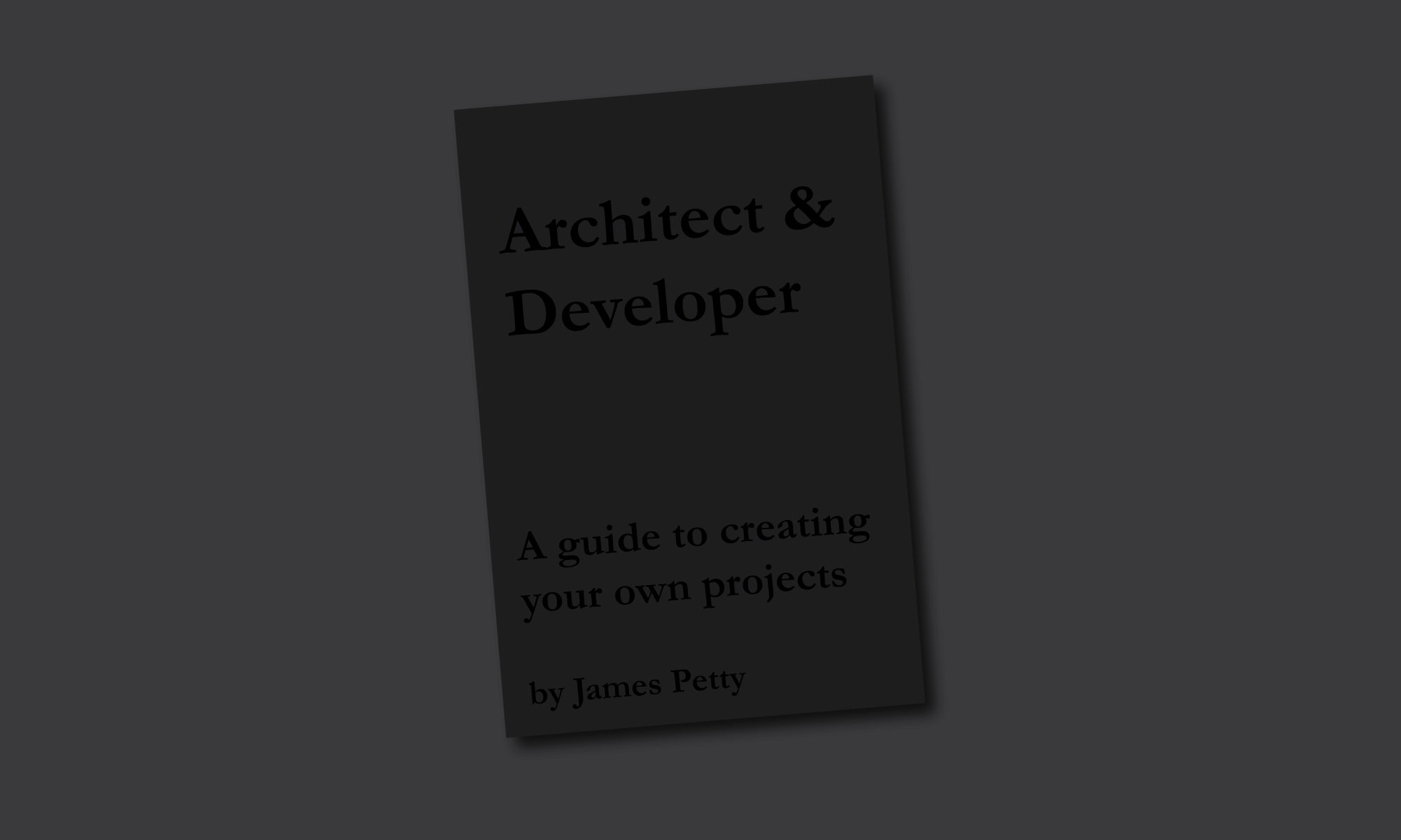 Architect & Developer
